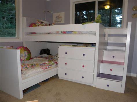 toddler bed with drawers underneath space saving bunk bed design ideas for kids bedroom vizmini
