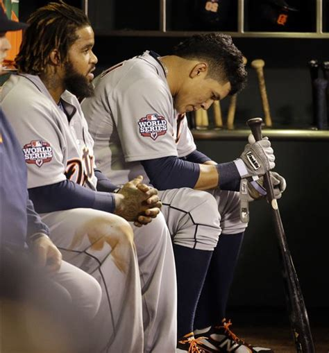 prince fielder bench press sandoval s 3 home runs boost sf over tigers 8 3 in world