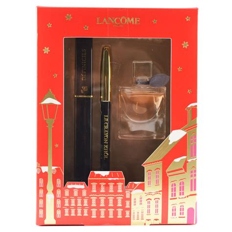 lanc 244 me d 233 finicils christmas gift set