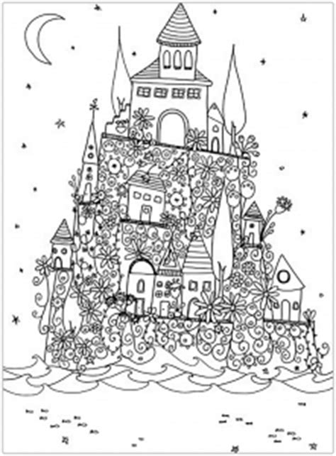 Architecture and Living - Coloring pages for adults