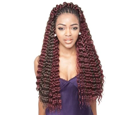 crochet braids with the caribbean twist hair isis collection caribbean french deep bulk hair for