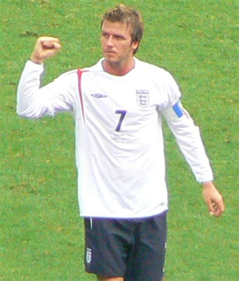 biography david beckham in english david beckham great player england