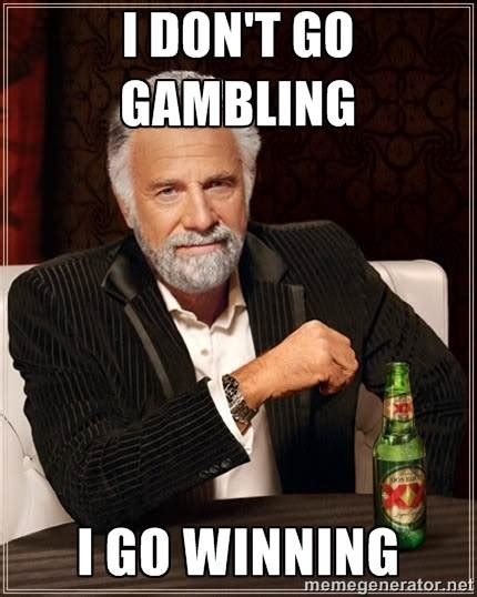 ten funniest gambling memes of all time