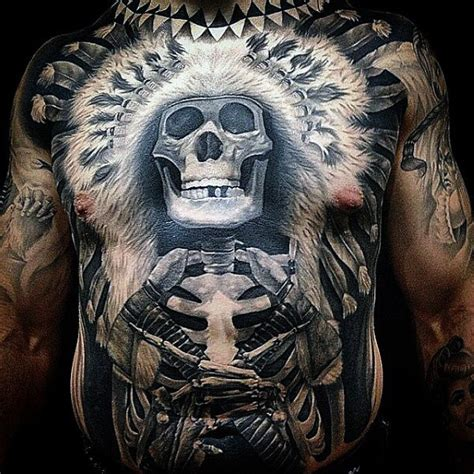 full stomach tattoos for men top 100 best stomach tattoos for masculine ideas