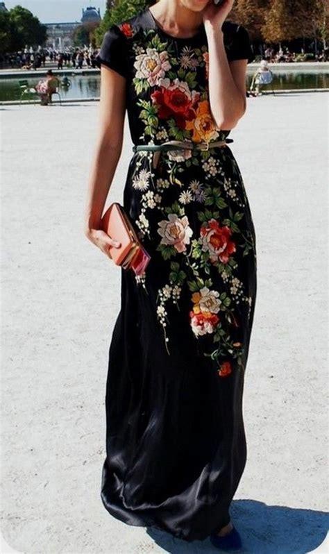 Drss 962 Flowy Roses Maxidress best 25 medium black hairstyles ideas on