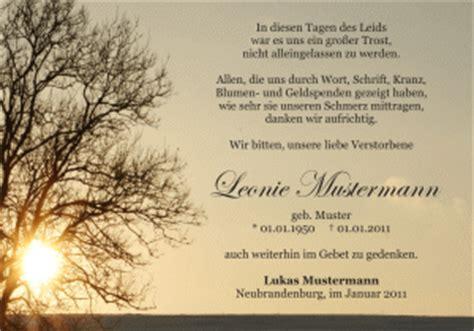 Word Vorlage Trauer trauer danksagungskarten im trauerfall todesfall