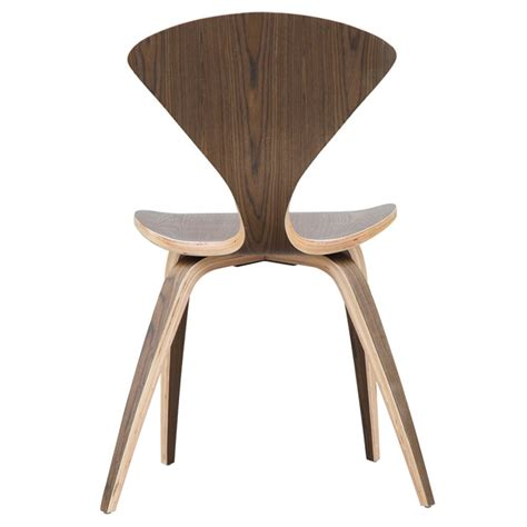 plywood dining chair plans cherner style plywood walnut wooden dining side chair
