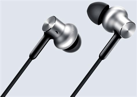 Xiaomi Mi In Ear Headset Headphones Pro Hd Hybrid Original xiaomi mi in ear headphones pro hd with hybrid drivers launched in the u s for 39 99