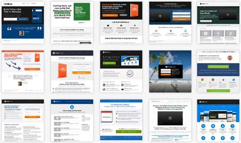 optimizepress templates optimizepress plugin an extremely powerful page building
