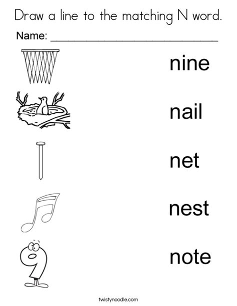 coloring pages that start with the letter n coloring page things that start with n coloring home