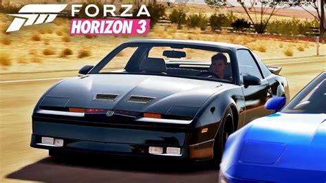 1987 pontiac firebird trans am gta forza horizon 3 let s drive kitt 1987 pontiac firebird