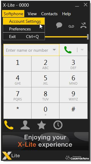 counterpath x lite softphone for pc biz line