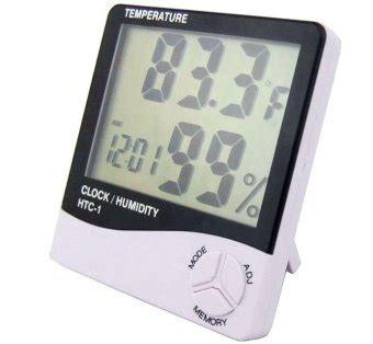 Thermometer Htc 1 Putih aka digital thermometer and hygrometer htc 1 pengatur