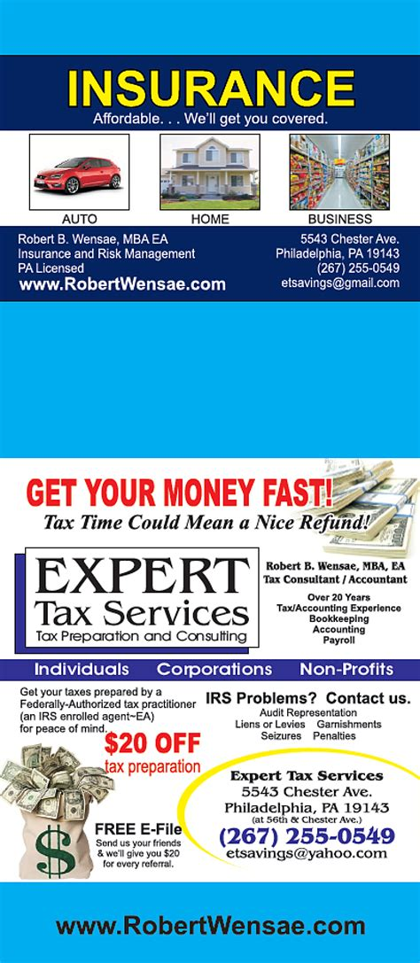 Affordable Insurance and Financial Services Tax and