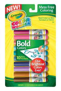 crayola bold color mini markers toys