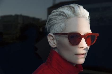tilda swinton x gentle monster 2017 ad campaign minimal