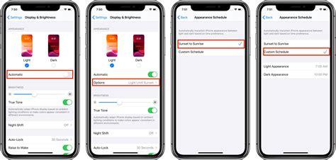 enable dark mode  iphone  ipad  ios