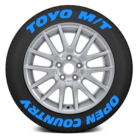 tire stickers 174 quot toyo m t open country quot tire lettering kit
