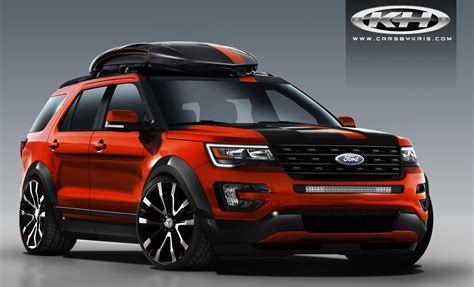 sema to show 4 special ford explorer builds ford authority