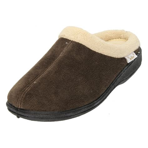 mules slippers dr keller fleece memory foam slip on slippers mules clogs
