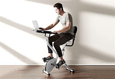 exercise bike with laptop desk laptop workout desk and exercise bike sharper image