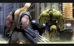 imagenes de hulk vs wolverine en real quadrinho universal hulk vs wolverine
