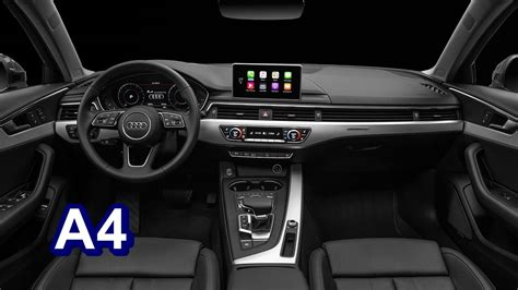 audi a4 2016 interior 2017 2016 audi a4 interior youtube
