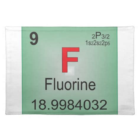 Fluorine Periodic Table by Fluorine Individual Element Of The Periodic Table Place