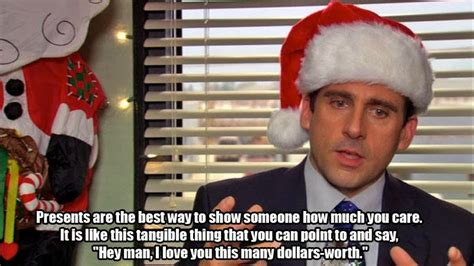 the office isms celebrate christmas with the office