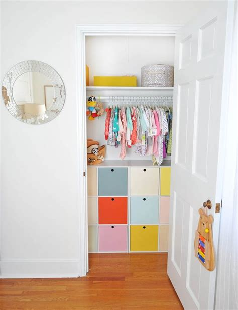 diy nursery closet organizer the world s catalog of ideas
