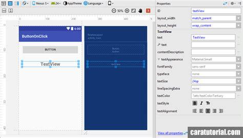 membuat file xml di android button onclick android studio membuat tombol berfungsi