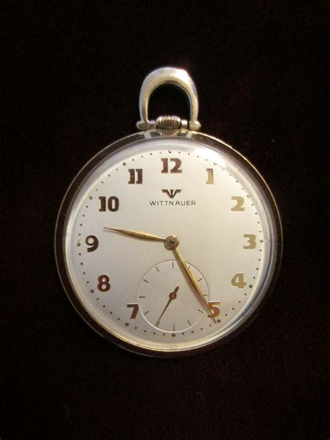 wittnauer swiss pocket open for sale antiques