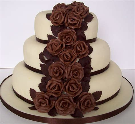 Chocolate Wedding Cake Images by Chocolate Cake