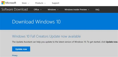 how to force windows 10 update how to force windows 10 to download the fall creators