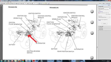 honda foreman 400 wiring diagram honda foreman ignition