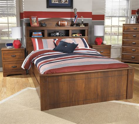barchan twin bookcase bed with storage signature design by ashley barchan full bookcase bed with