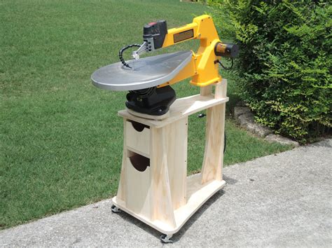scroll saw bench plans scroll saw stand woodworking plans