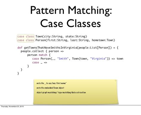 scala pattern matching in java introduction to scala for java programmers