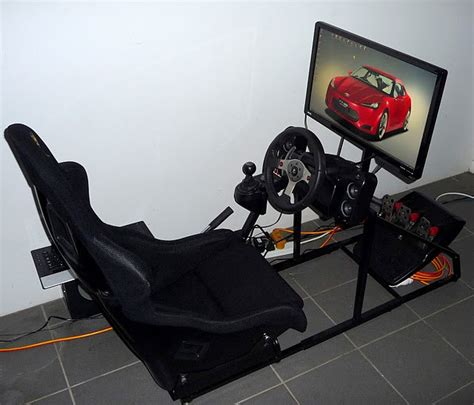 Recliner Gaming Setup what is the best way to mount a steering wheel controller