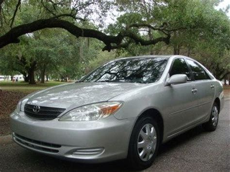 2004 Toyota Camry Transmission Purchase Used 2004 Toyota Camry 4dr Le 4 Cylinder