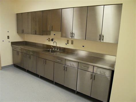 Commercial Stainless Steel Kitchen Cabinets Stainless Steel Commercial Kitchen Cabinets Intended For Your House House Design Ideas