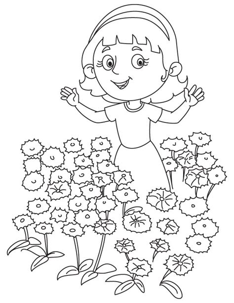 gardening coloring pages for kindergarten 84 gardening coloring pages for kindergarten