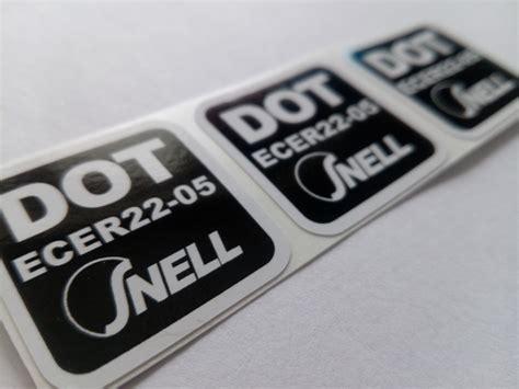 Ece Aufkleber Helm by 3 X Dot Ece 2205 Snell Sticker Aufkleber Etikett Etichetta