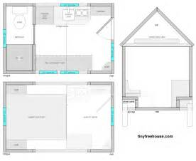 Tiny Home Floor Plans by Free Small House Floor Plans Home Design Scrappy