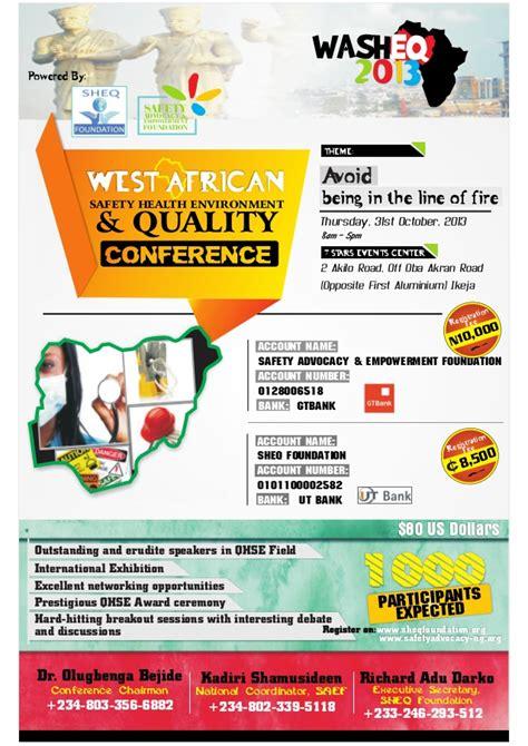 upcoming slideshare washeq 2013 poster