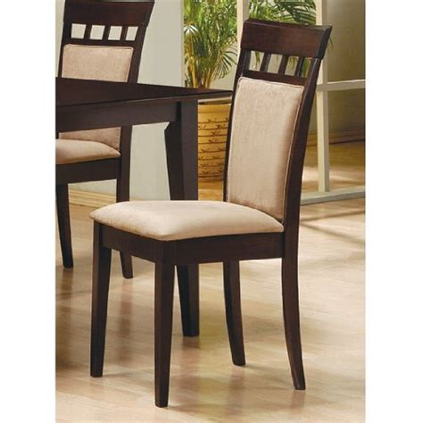 Dining Room Chair Back Cushions Buy Coaster Cushion Back Dining Chairs Cappuccino Set Of With Dining Room Chair Cushion Covers