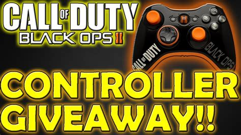 Chaosxsilencer Giveaway - black ops 2 controller giveaway bo2 custom xbox controller from lazamodz youtube