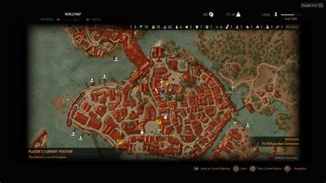 Barber Locations Witcher 3 | witcher 3 barber locations novigrad map of important