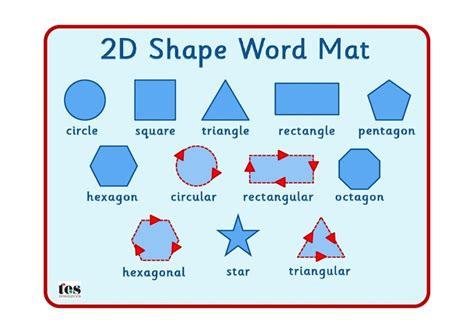 17 best images about 2d shape resources special needs on