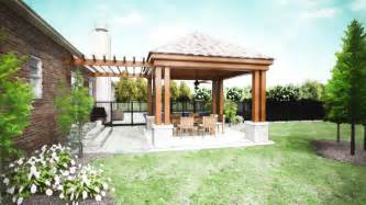 Covered Porch Design by Covered Patio Company Dayton Patio Cover Designs